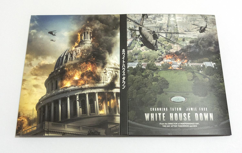 ホワイトハウス・ダウン スチールブック