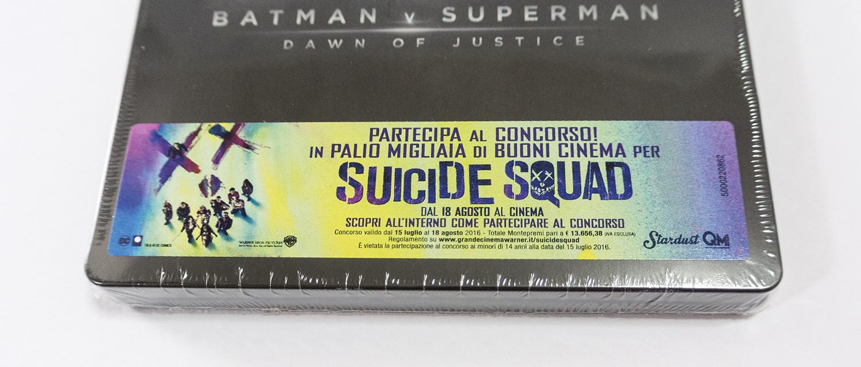 バットマン vs スーパーマン ジャスティスの誕生 イタリア盤 スチールブック
