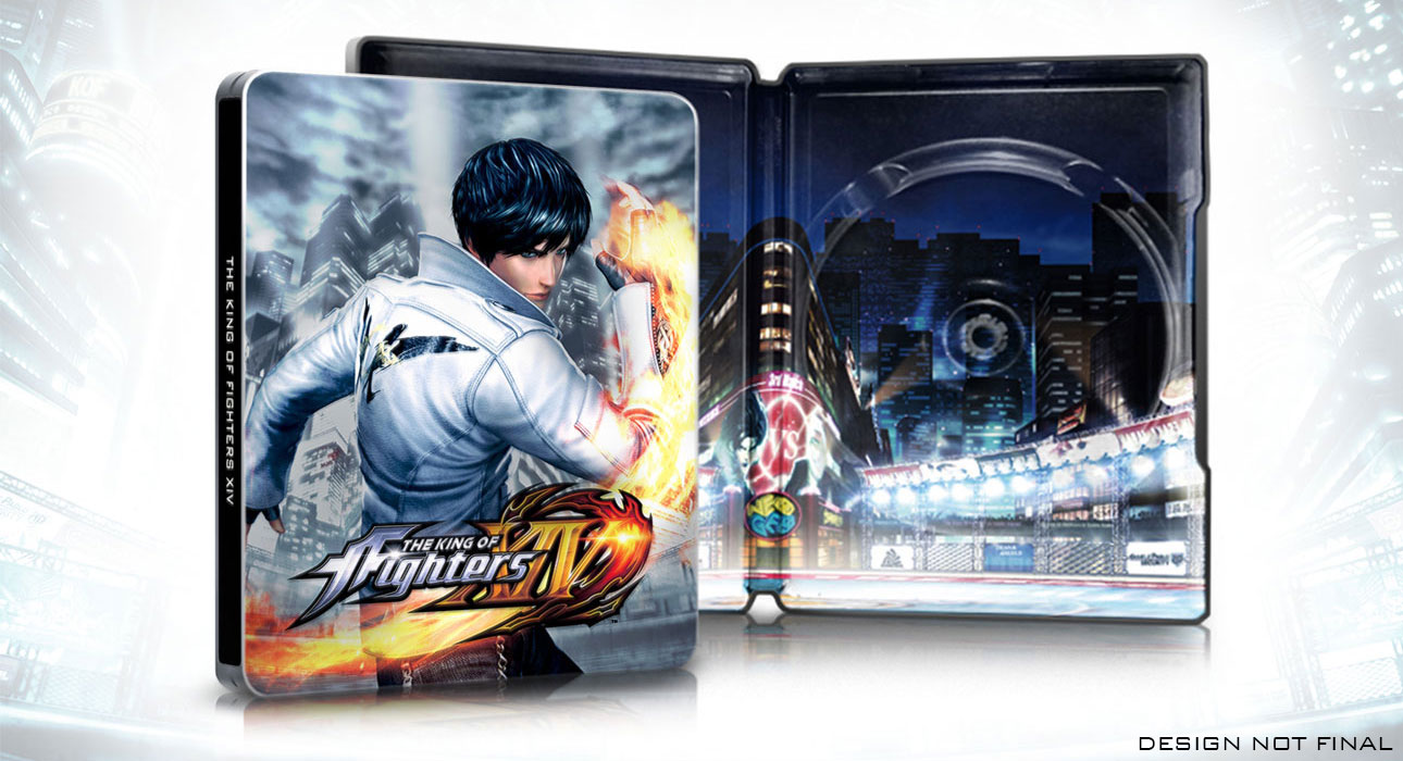THE KING OF FIGHTERS XIV スチールブック