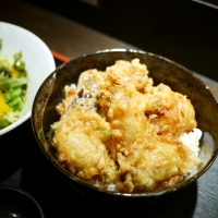 うらら牡蠣天丼1