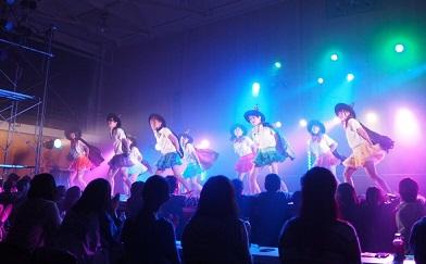 2015 おじゃ魔女 ステージ