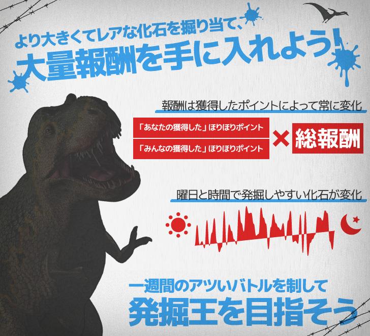gaingame 恐竜発掘!ほりほりランド ルール