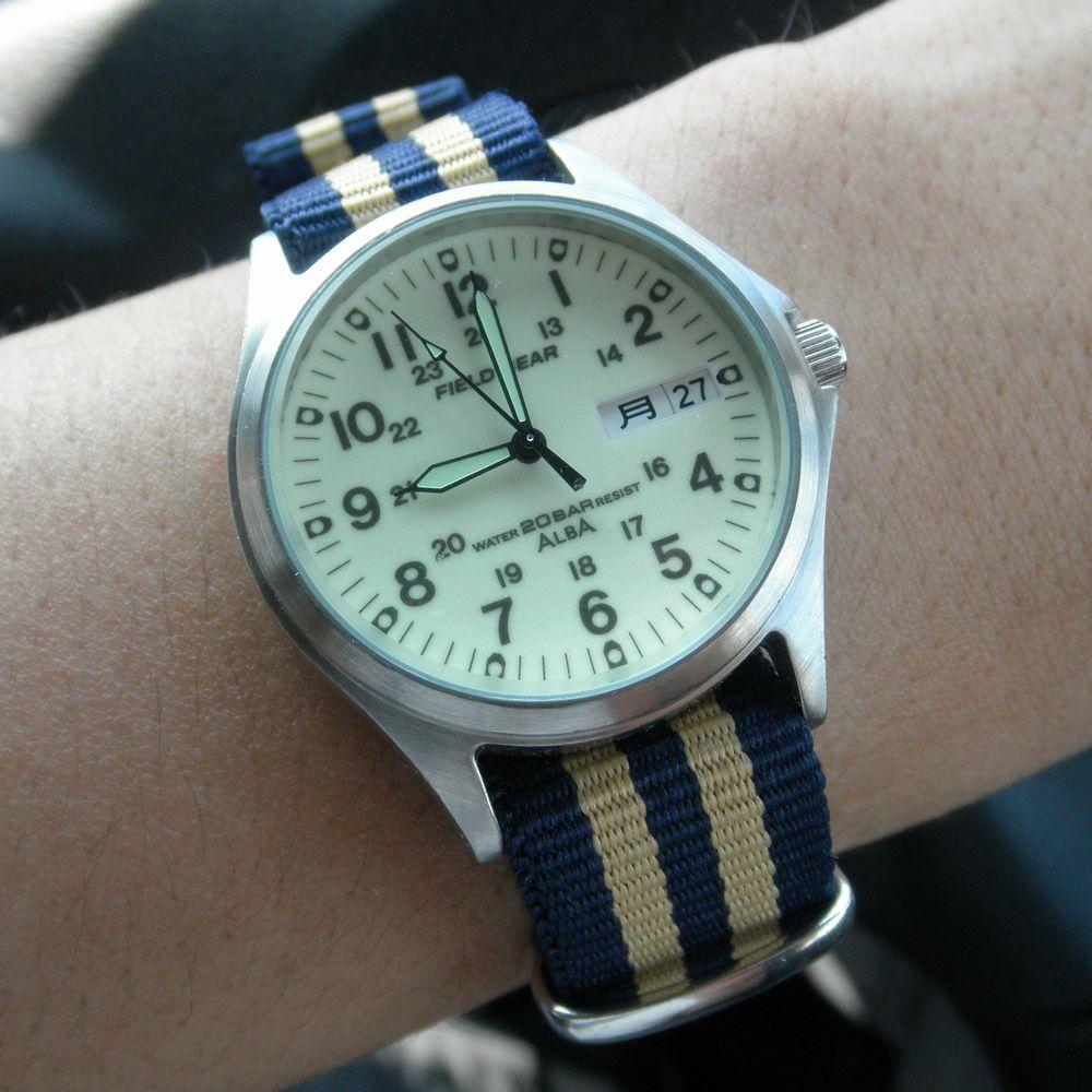 finest selection dfce9 693cb 泥沼時計収集メモ 最強の実用時計 アルバ フィールドギア