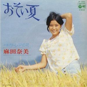 麻田奈美 おそい夏
