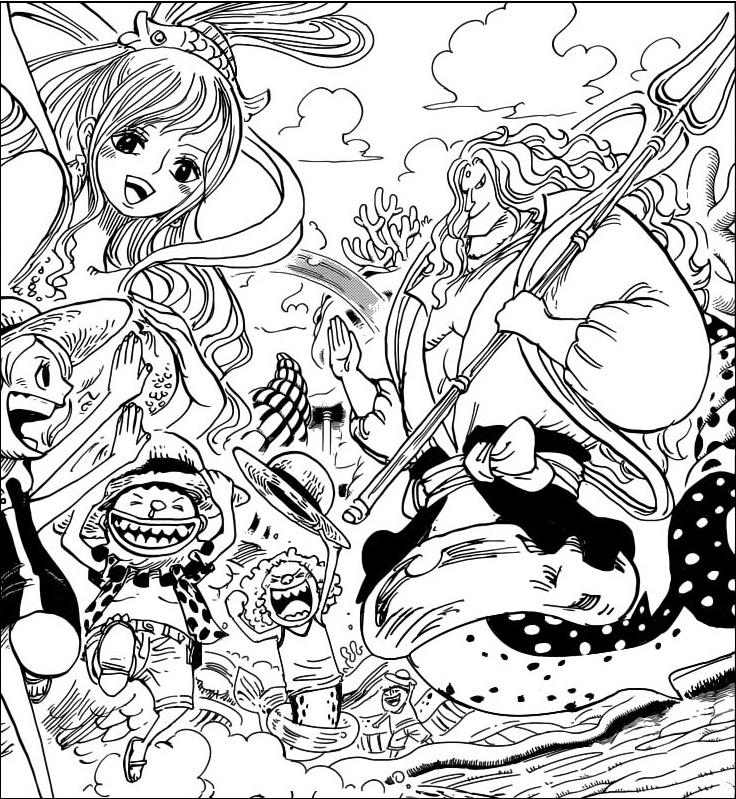 短期集中表紙連載 第22弾 世界の甲板から~5億の男編~Vol.19 「魚人島 ,流行るヒーローの帽子,」魚人島の子供達が欲しがっていた\u201cヒーロー帽\u201d早くも魚人島内で流行っ