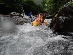 17自然塾7月滑り