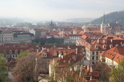 プラハ城から(400)