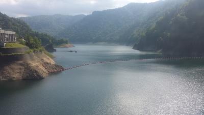 豊平峡ダム400