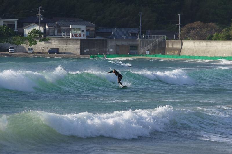 和歌山 産湯海岸 サーファー サーフィン