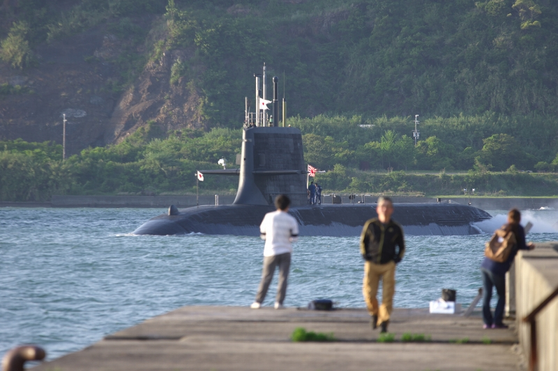 由良港 海上自衛隊阪神基地隊由良基地分遣隊 潜水艦
