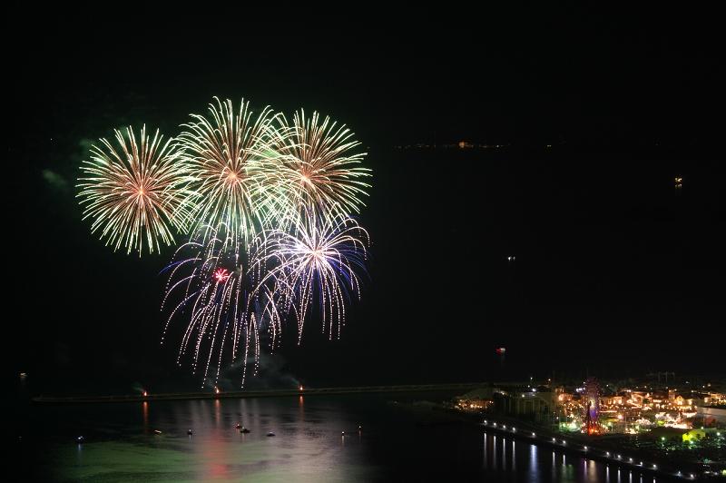 ポルトヨーロッパ 花火 スターライトイリュージョン 地蔵峰寺