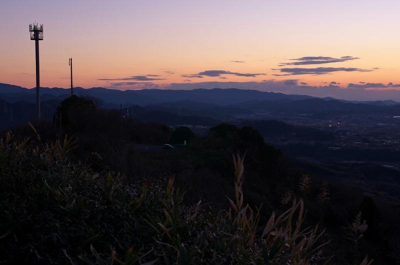 最初が峰からの夕景・夜景