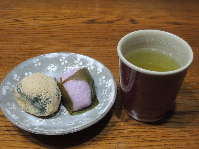 桜餅とウグイス餅 その2