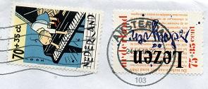 切手12  オランダ