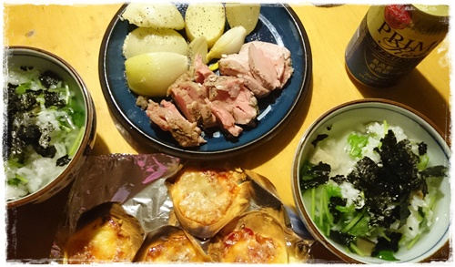 夕食&ランチDSC_3550