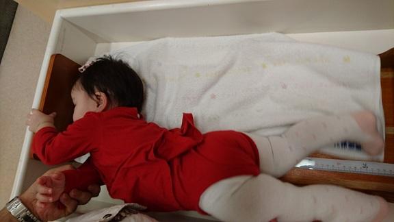 生後11か月 身長測定3