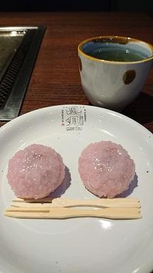 風月 桜咲くセット デザート