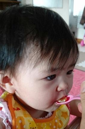 さくらんぼ実食
