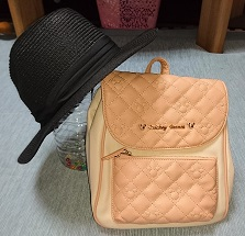 パンチ用バッグ&帽子