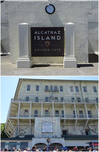 アルカトラズ看板&兵舎