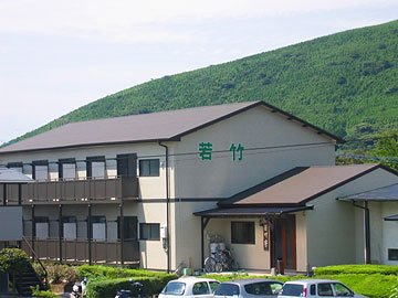 ③東海大学の南阿蘇村の学生寮