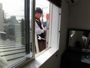 3階エアコン工事