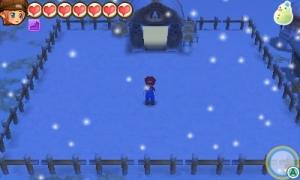 牧場物語 雪景色