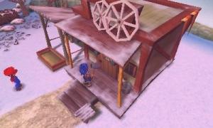 牧場物語 古い家外観