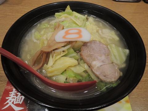 野菜らーめん(塩)(604円)