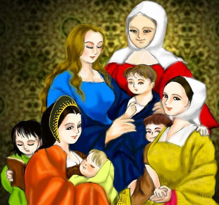 アンナと娘たち