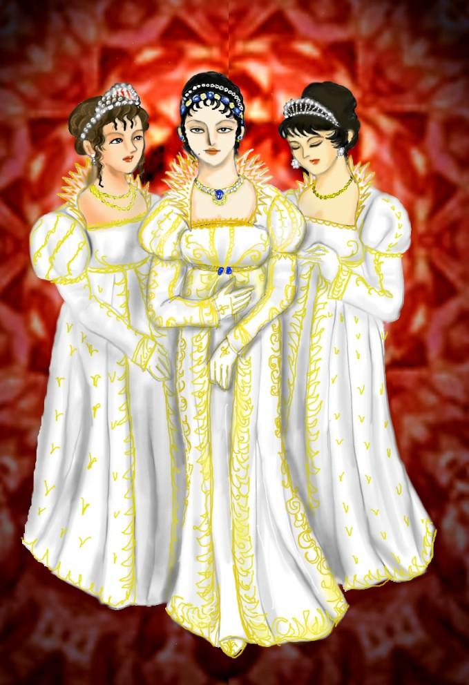 三姉妹女王