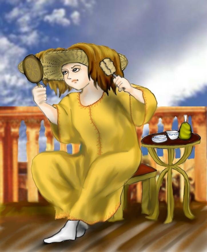 ヴェネツィアの金髪美人