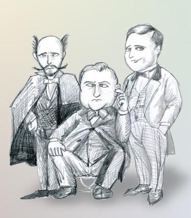 三人組(ナポレオン3よ)
