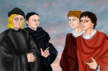 4人の画家