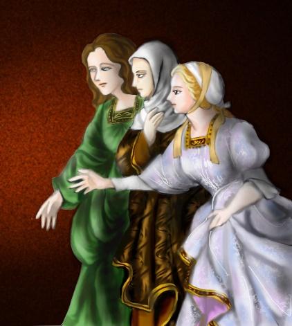 三人のマリア