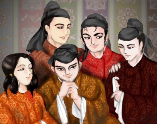 吉野の五皇子