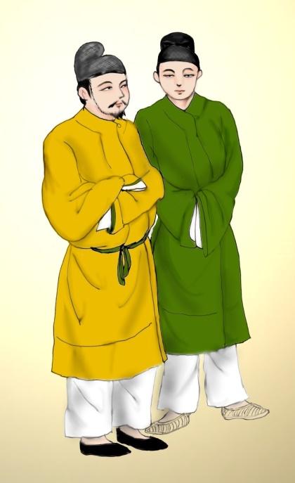 高松塚壁画男子像