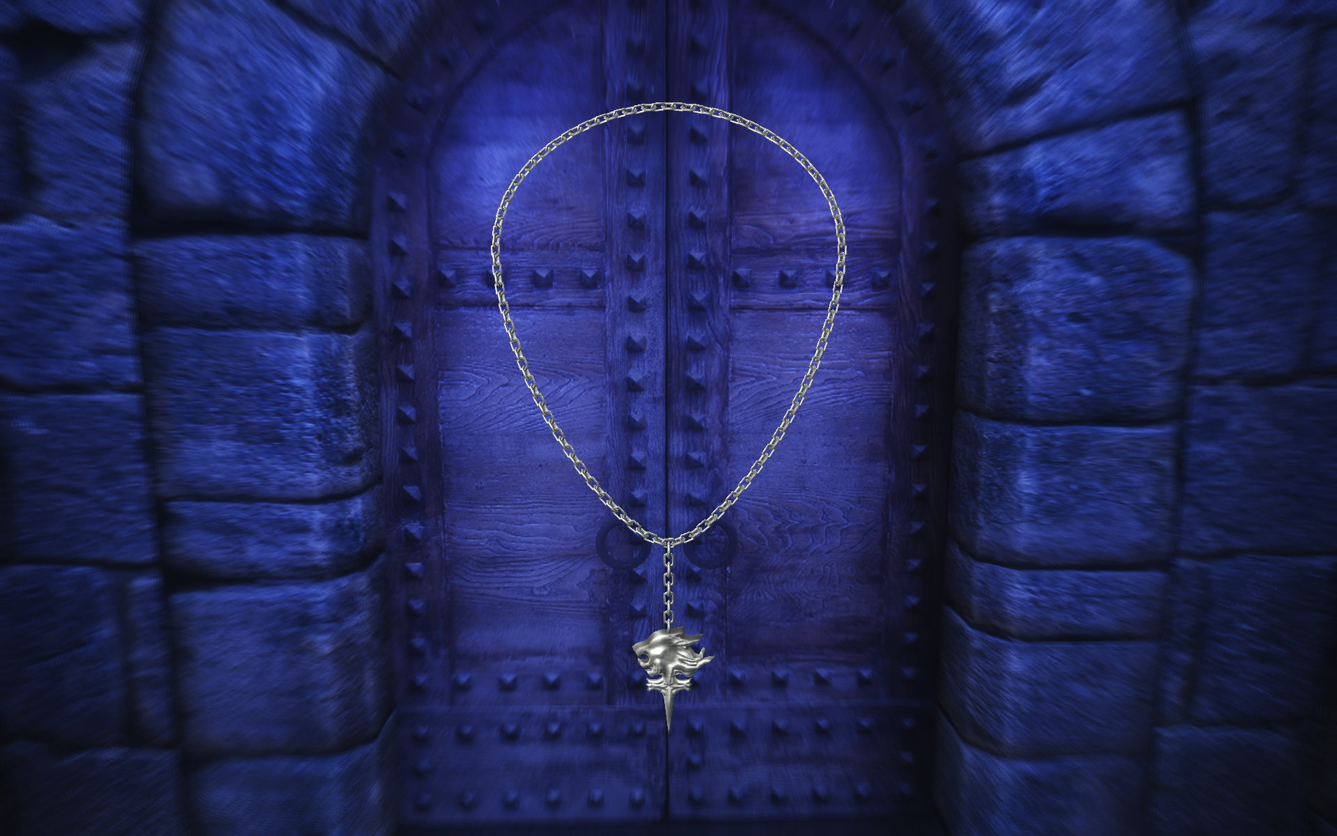 FF8 Squall Griever Necklace