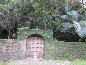 西森御嶽石門