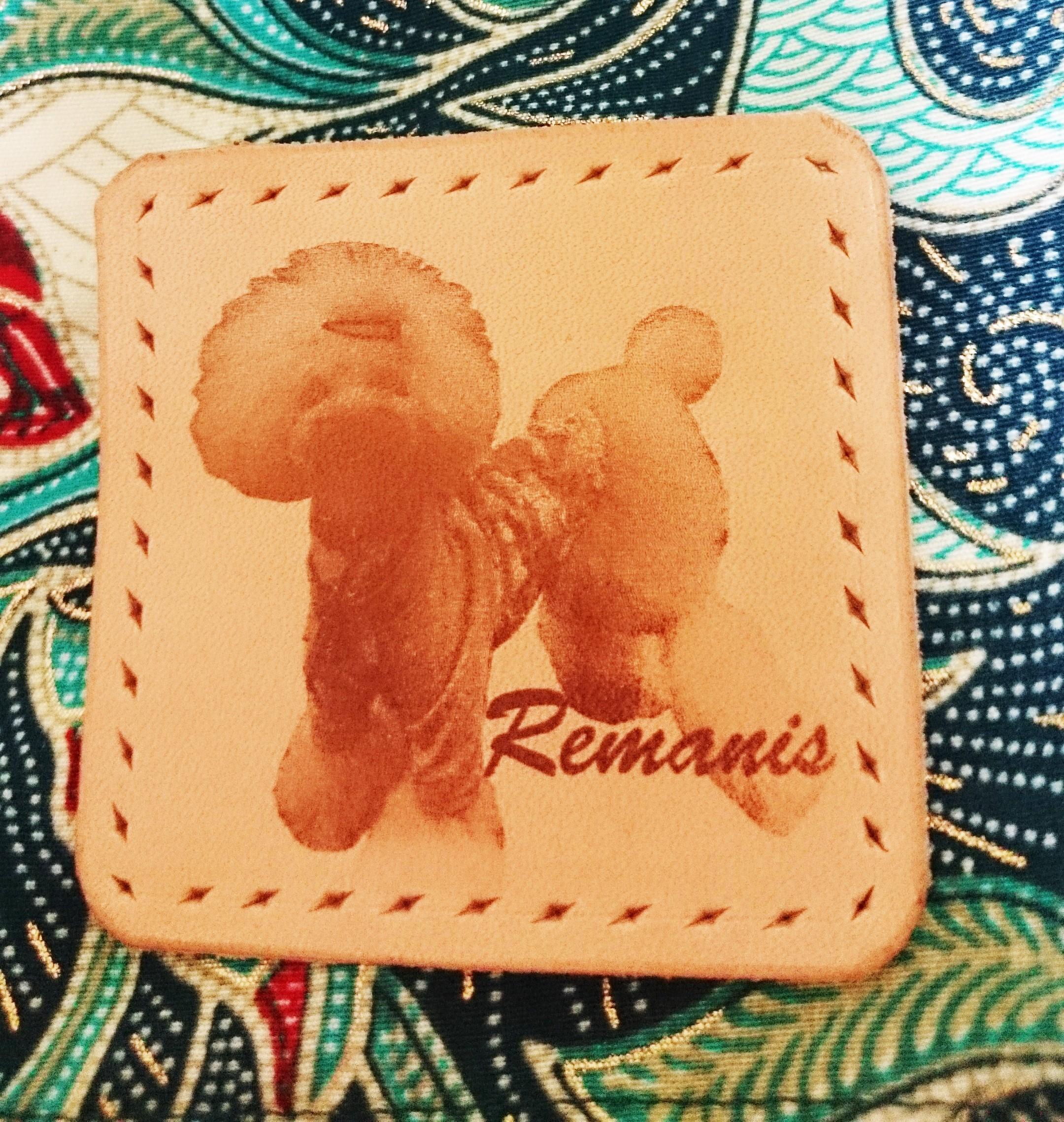 Remanis-れまにす- レザータグ