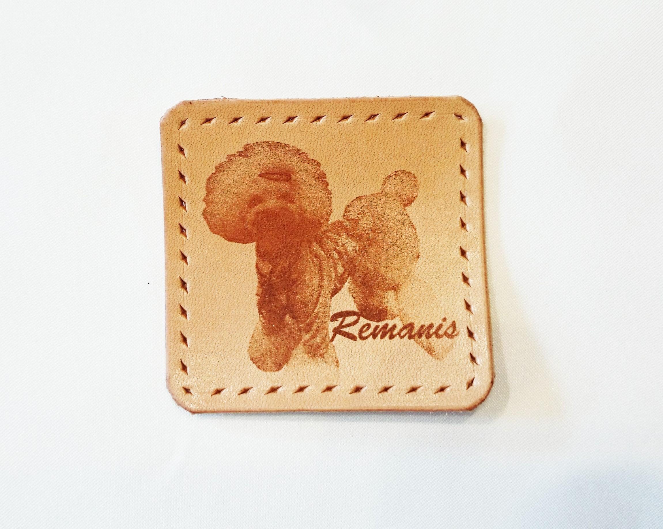 Remanis-れまにす- オーダーメイドレザータグ