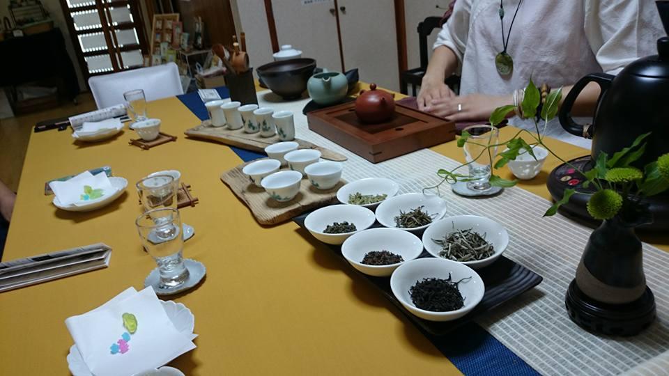 中国茶ブース