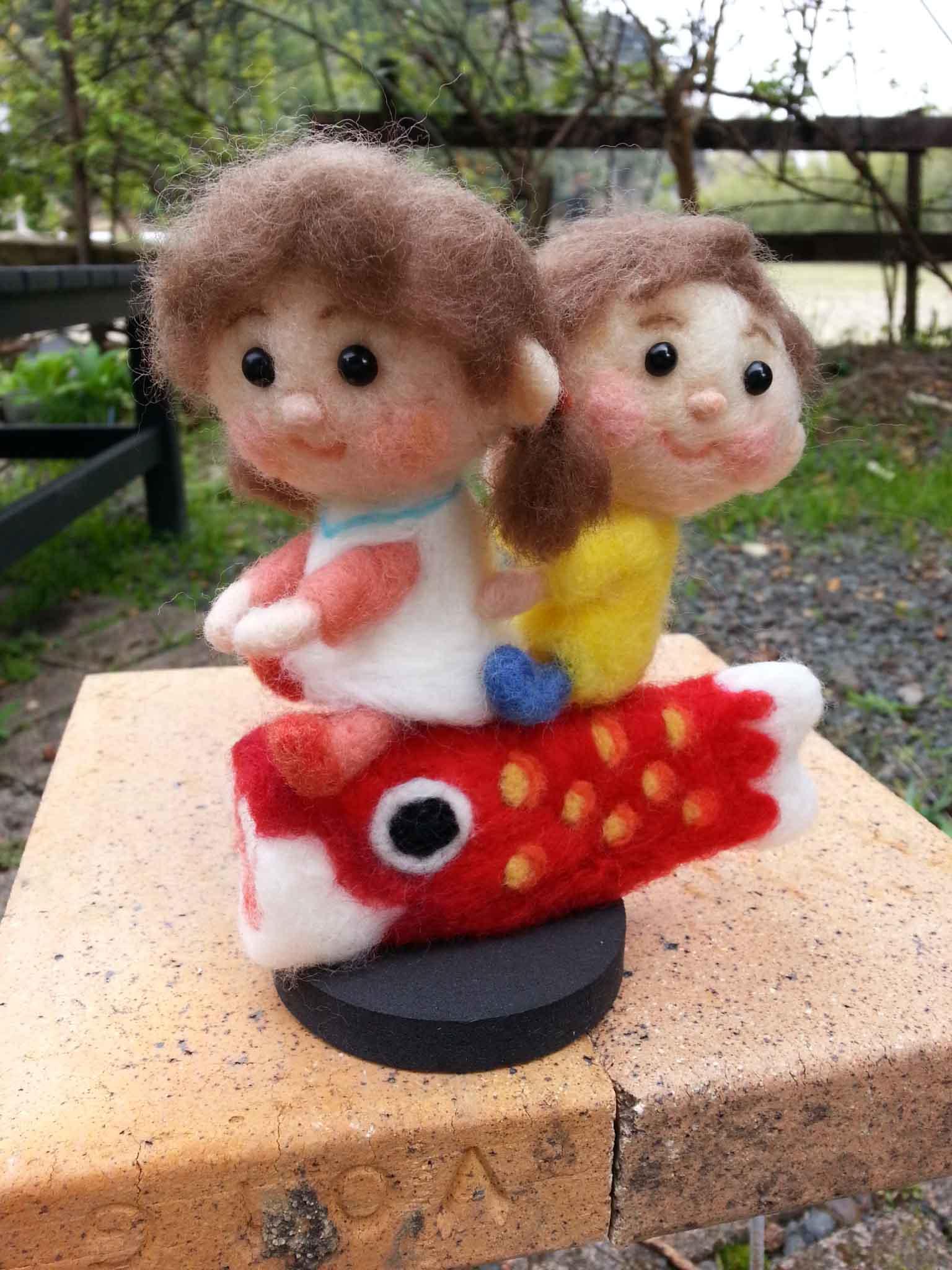 鯉のぼり姫とタロウ3