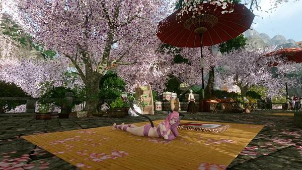 4月9日お花見会場で