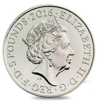 コピー ~ 女王90thコイン本物