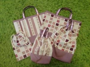 女の子用バッグセット1