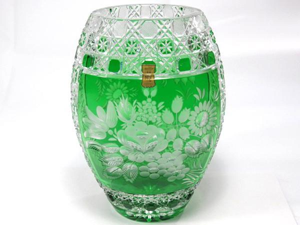マイセン フラワーベース クリスタル 花瓶