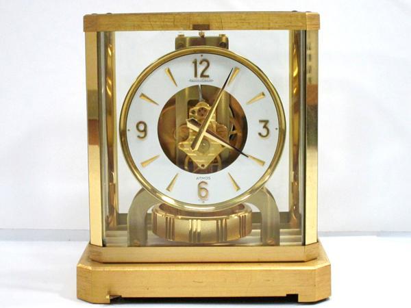 ジャガールクルト アトモス 空気時計