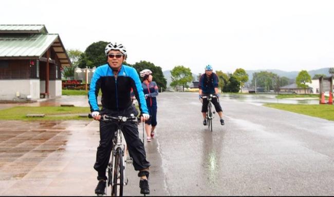 串間サイクリング終わり