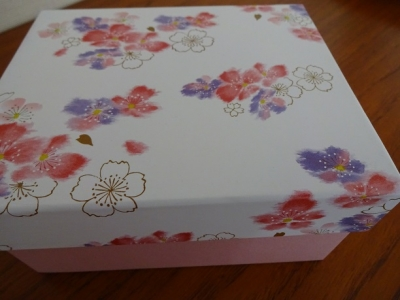 桜のグラス③